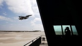 Air Force Jet Accidentally Shoots Up Control Tower