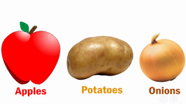 Do Apples, Potatoes And Onions Taste The Same?