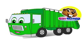 Counting Garbage Trucks - Garbage Trucks - Teach Kids Counting
