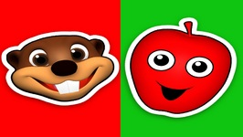 The Apple is Red - Baby Beavers Teach Colors for Kids - Early Childhood Education
