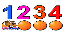 Counting Oranges - Counting Practice - English Learning - Kids English - Basic Math - Kids Math