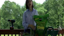 Herb Garden - How to Select Organic Potting Soil