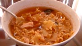 Crispy Tuna-Noodle Crepes