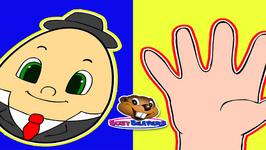 Finger Family Humpty Dumpty - Simple English Song - Nursery Rhyme