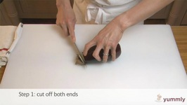 Tips To Peel And Cut An Eggplant