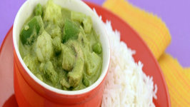 Thai Green Curry by Tarla Dalal
