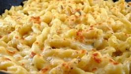 Macaroni Double Cheese Casserole