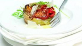 Grana Padano Slow-Roasted Tomato & Pepper Tarts