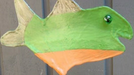 Pantyhose Fish Sculpture Great Father's Day Craft! Exclusive!