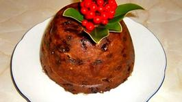 Microwave Christmas Plum Pudding