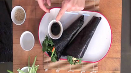 A Nutritious Lunch in Minutes Nori Hand Rolls