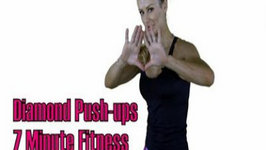 Diamond Pushups, 7 Minute Fitness