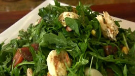 Shrimp & Arugula Salad with Fresh Lemon Vinaigrette