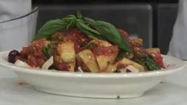 Orazio's Restaurant Vegan Pasta Marinara