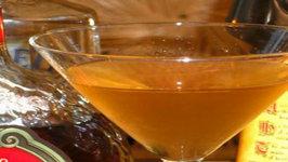 How To Make an Amber Martini