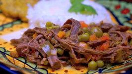 Elba's Ropa Vieja-Shredded Beef Stew Recipe