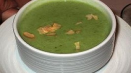 Asparagus Escarole Soup
