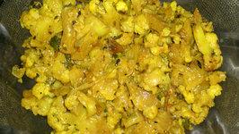Cauliflower Mozhu Fry