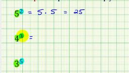 Ex:  Evaluate Exponential Expression