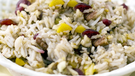 Exotic Rice With Tropical Fruits