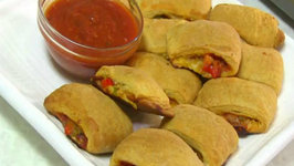 Veg. Pizza Rolls or Pockets by Chef Dhruv - Kid's Cooking