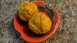 Pumpkin, Yogurt and Honey Muffins