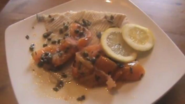 Skate with Tomatoes and Capers