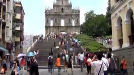 Things to do in Macau, China including visiting Senado Square & the Ruins of Saint Paul's Cathedral