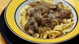 Healthy Version Of Beef Stroganoff