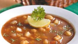 Chick Pea Soup by Tarla Dalal