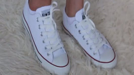 Fashion Styling White Converse