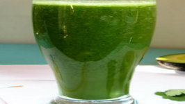 Mango Magic Green Pudding Smoothie