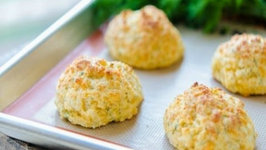 Skinny Cheddar Dill Biscuits  Lighter Biscuits