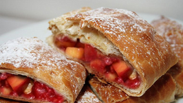 Peach Or Raspberry Strudel