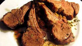 Roasted Rack of Lamb A La Francaise
