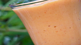 Mango and Strawberry Smoothie