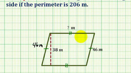 Ex:  Determine the Length of a Missing Side Given the Perimeter