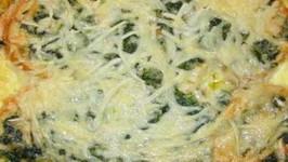 Reduced Calorie Baked Veggie Omelette