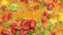 Spicy Rajma Masala