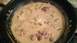 Pra Raam Long Song - Beef in Coconut Curry