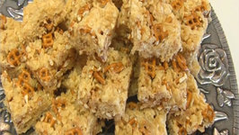 Betty's Toffee Pretzel Rice Krispies Treats