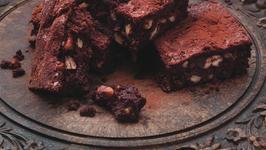 Dark Chocolate, Clove and Cinnamon Brownies