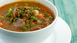 Whole Masoor Dal (Low Cholesterol) by Tarla Dalal