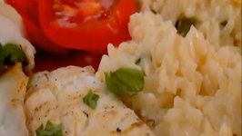 Grilled Lemon Herb Halibut and Creamy Citrus Rice