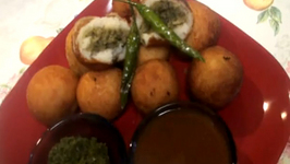 પટશ - Stuffed Aloo Tikki - Patties or Pattice - Stuffed Potato Balls