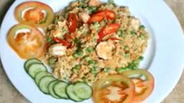 Stir-fried Tuna Rice