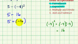 Ex 1:  Simplify Expressions Involving Integers Using the Order of Operations