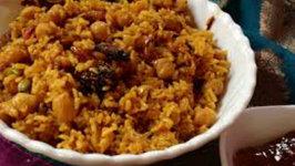 Kabuli Chana Rice
