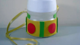Back to School Crafts: How to make a Water Bottle for School with a Kool-aid Bottle