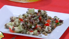 Lentil Cucumber Salad With Lemon And Mustard Dressing